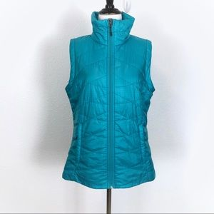 Columbia M Omni-Heat Full Zip Vest Turquoise Slim